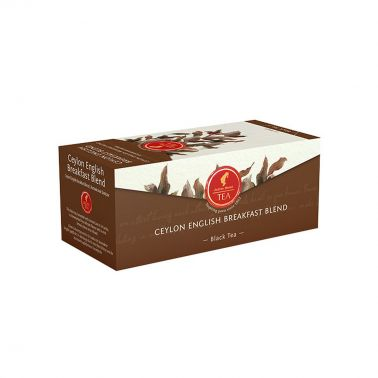 Julius Meinl Prémiový černý čaj Ceylon English Breakfast Blend 25 x 1,75 g